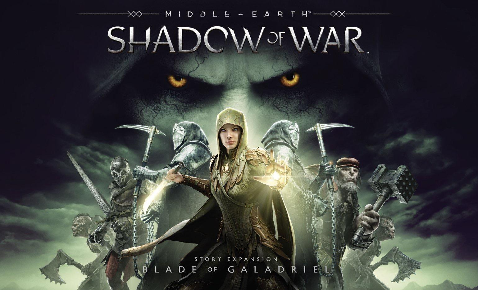 Middle-earth: Shadow of War - Blade of Galadriel Available Now