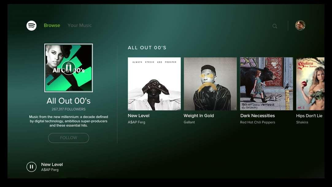 Spotify Music App Spied on the Xbox Store - Report - Xbox