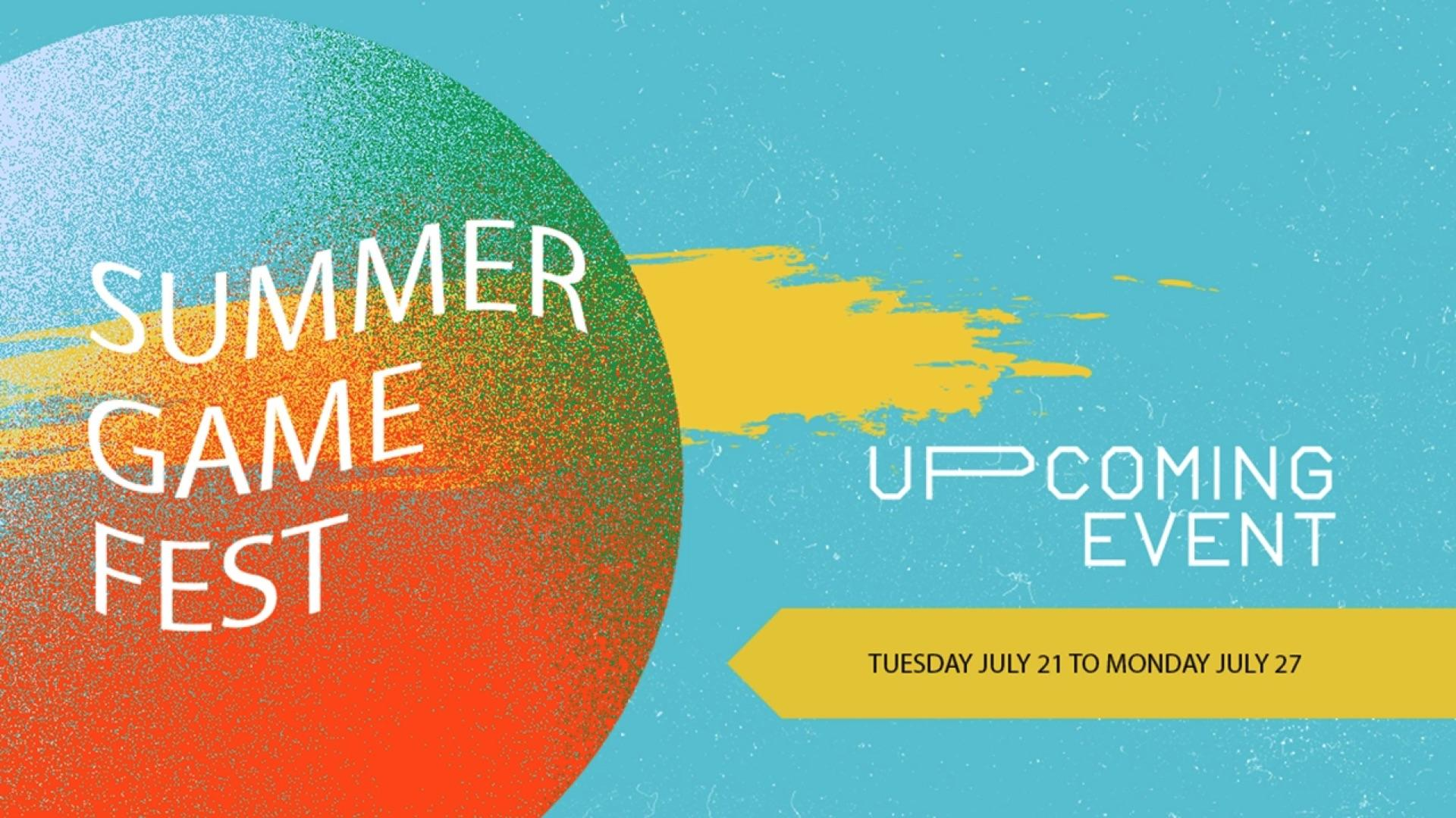 Xbox One Summer Game Fest Demo Event Will Begin July 21, 2020