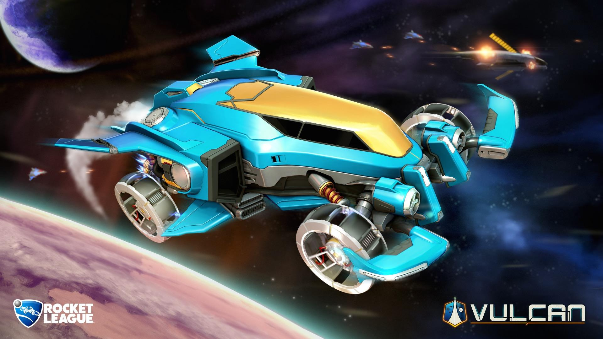 New Rocket League Space-Themed Content Coming Next Week