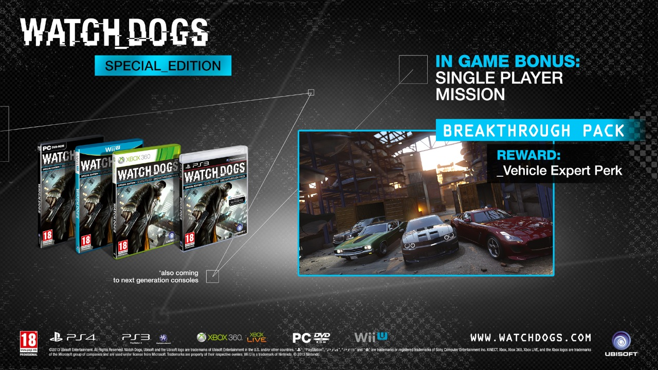 Watch Dogs Xbox One Achievements