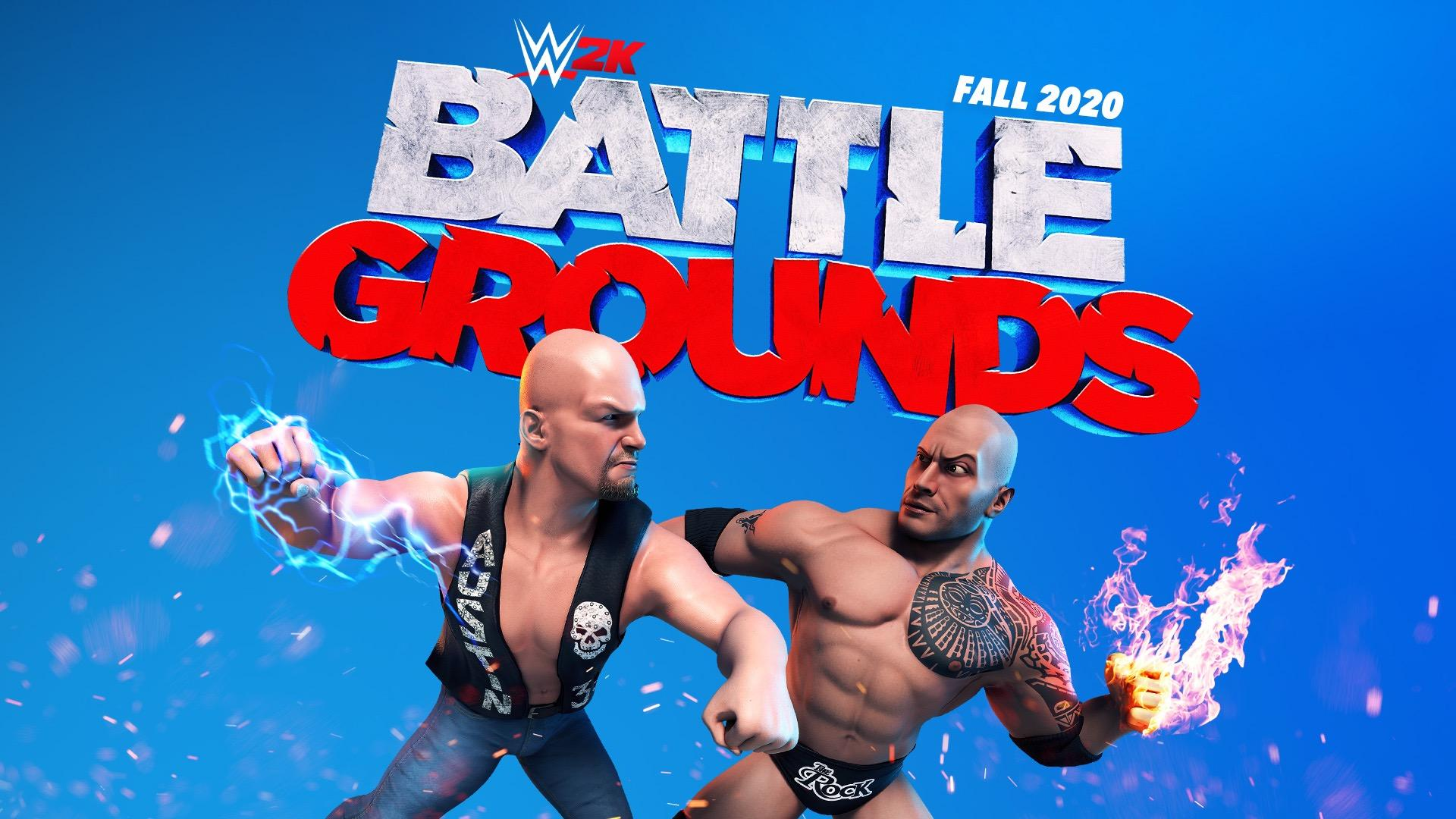 2K & WWE Charge Into New Future With WWE 2K Battlegrounds
