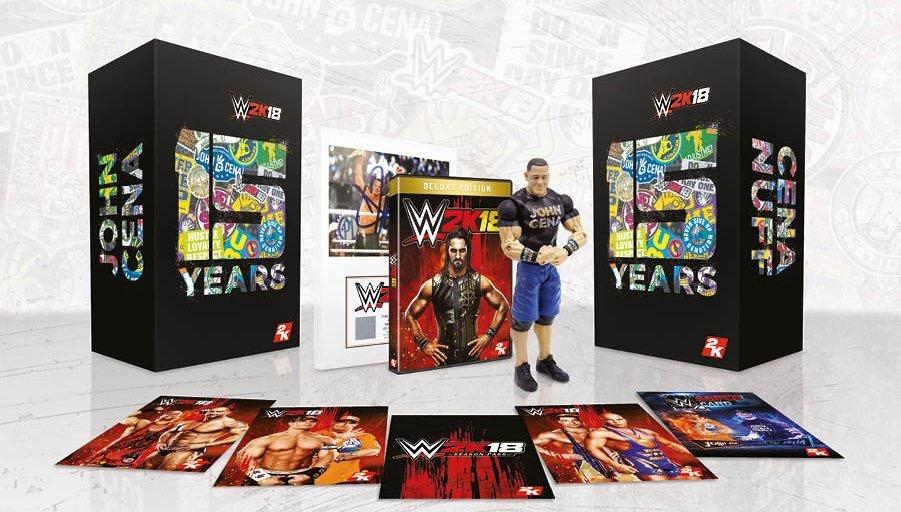WWE 2K18 Collector's Edition Featuring John Cena Revealed