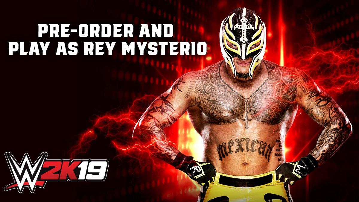 wwe 2k19 offering playable rey mysterio as pre order bonus xbox one xbox 360 news at. Black Bedroom Furniture Sets. Home Design Ideas