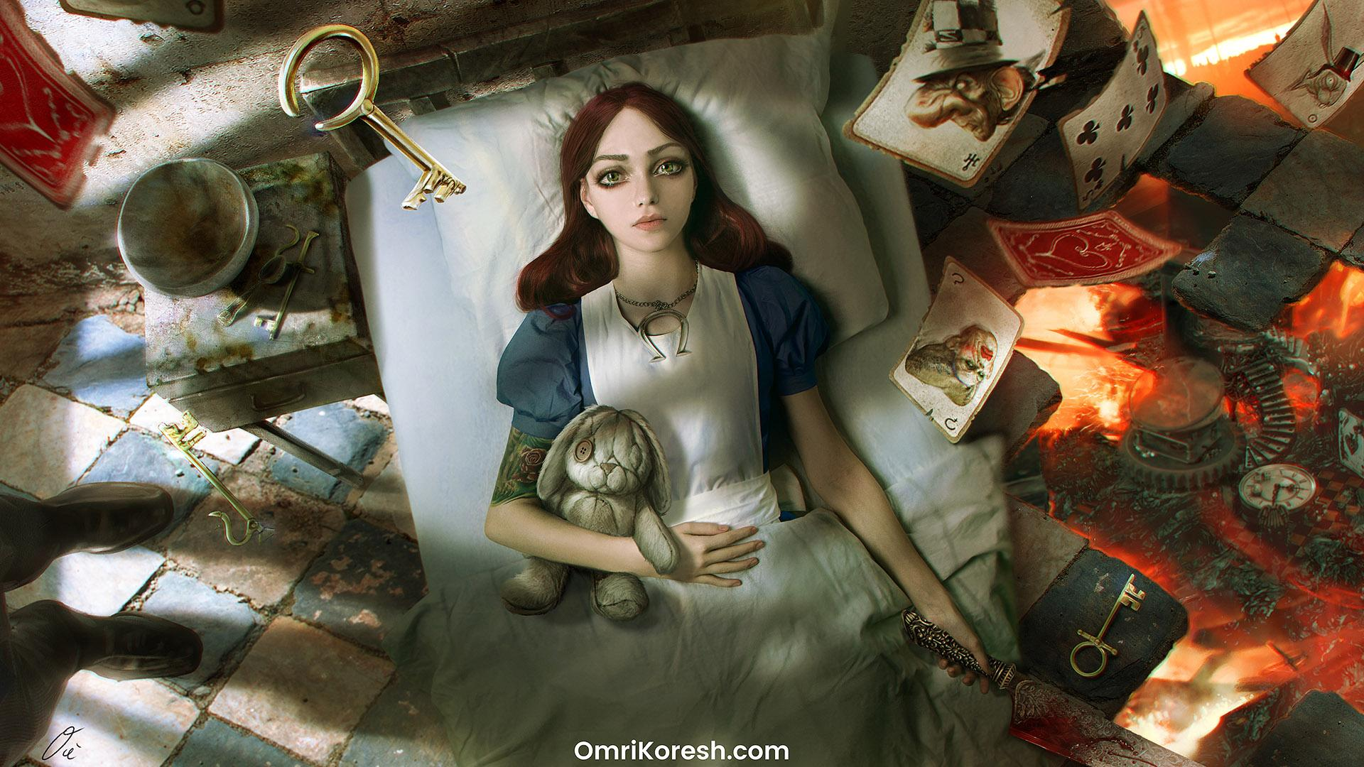 American McGee Drawing Up Proposal For New Alice Game
