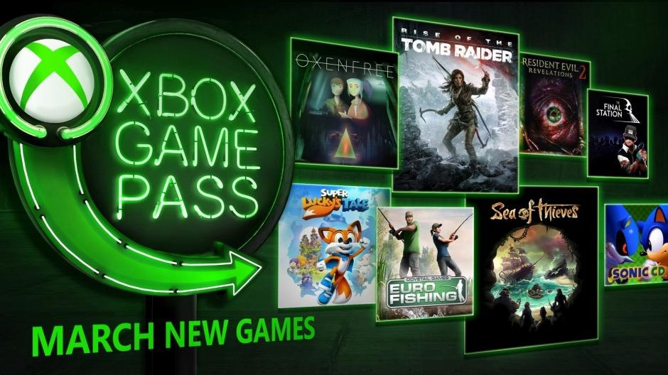 Xbox Game Pass Adds Eight Games for March 2018