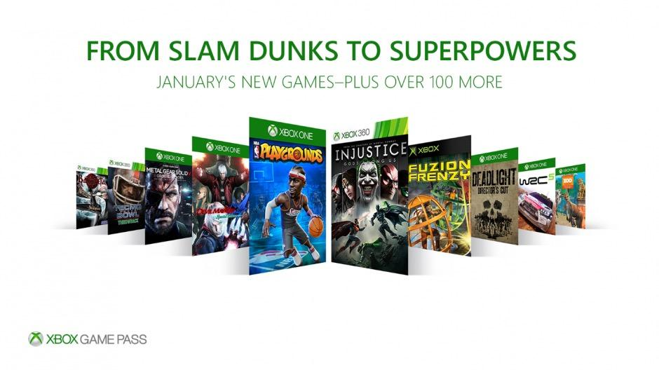 Xbox Game Pass January Update Includes NBA Playgrounds, DMC 4 and Bayonetta