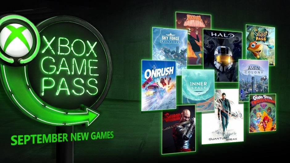Xbox Games Pass September 2018 Games Include Halo: MCC and More