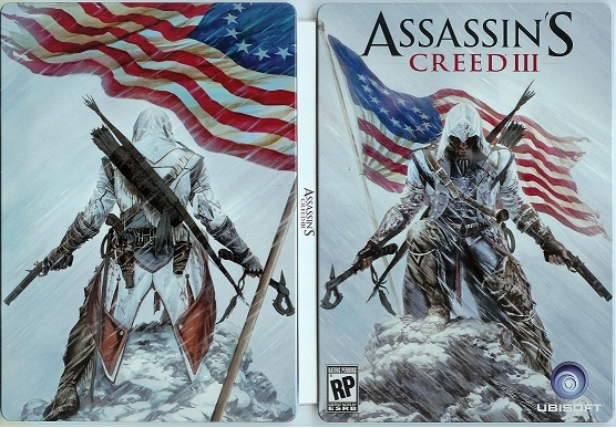 Assassin's Creed III Pre-Order Steelbook Incentive Revealed