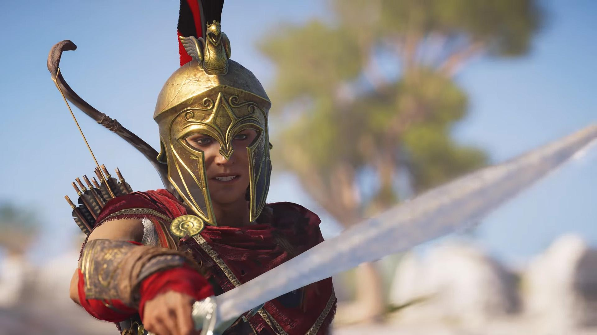 Assassin S Creed Odyssey Female Protagonist Is Canon Says Ubisoft