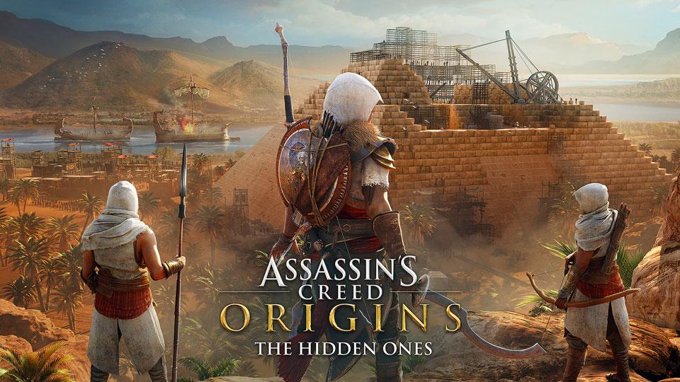 Ubisoft Details First Assassin's Creed Origins Expansion, The Hidden Ones