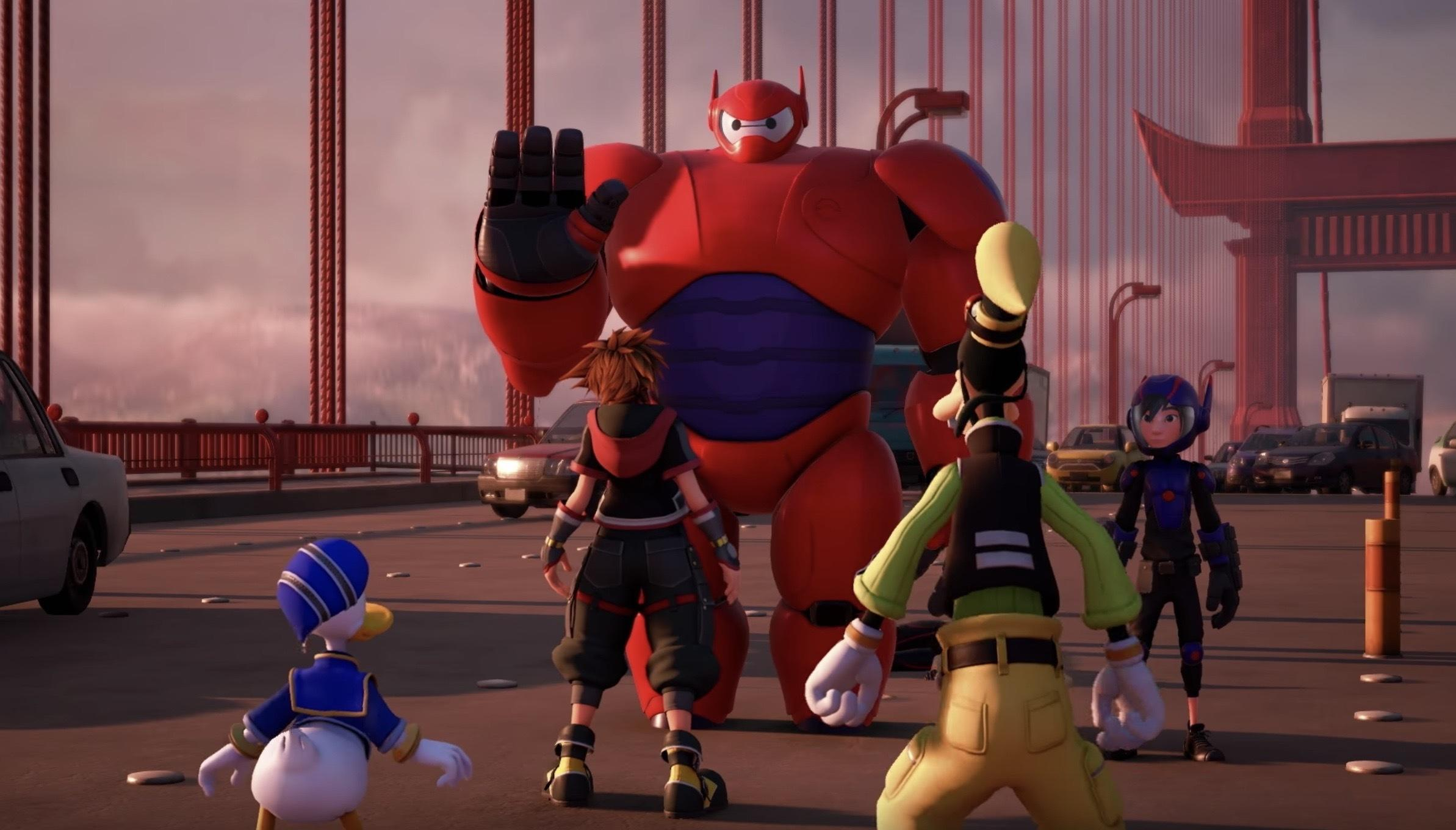 Kingdom Hearts 3 Extended TGS 2018 Trailer Looks Amazing