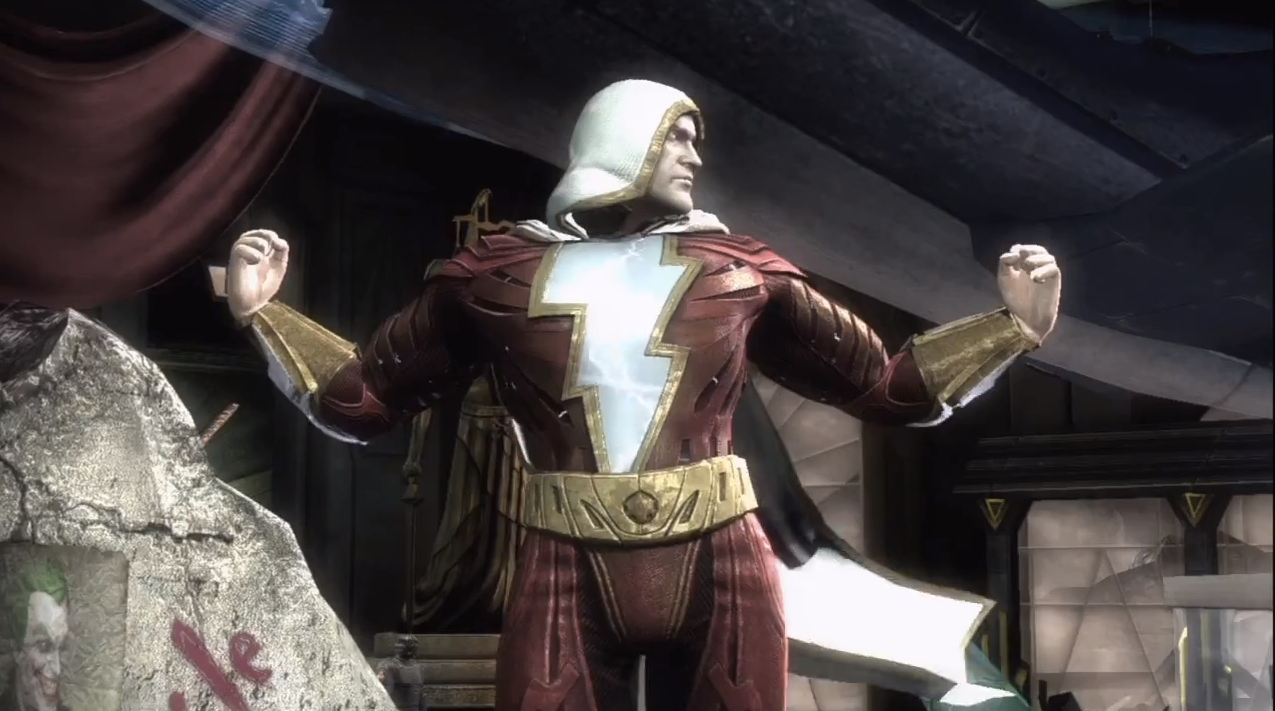 Injustice Gods Among Us Adds Captain Marvel To Its Ranks