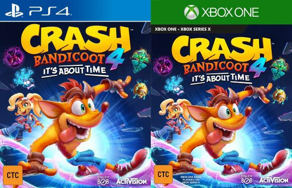 Crash Bandicoot 4 'leaked' and potentially coming to next-gen consoles