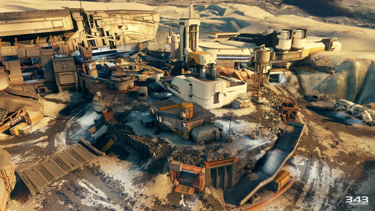 Halo 5: Guardians' Ghosts of Meridian Maps Detailed - Xbox