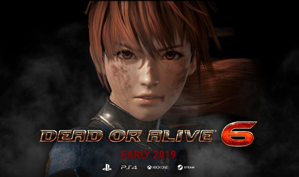 Dead Or Alive 6 announced with 2019 release date