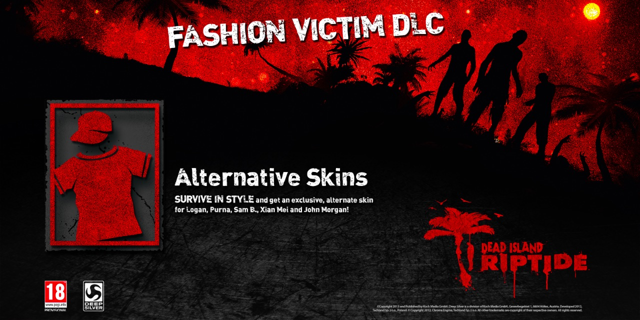 Dead Island Riptide Skins Dlc
