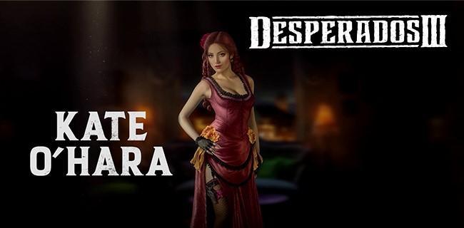 Desperados Iii Trailer Profiles Glamorous Assassin Kate O Hara Xbox One Xbox 360 News At Xboxachievements Com