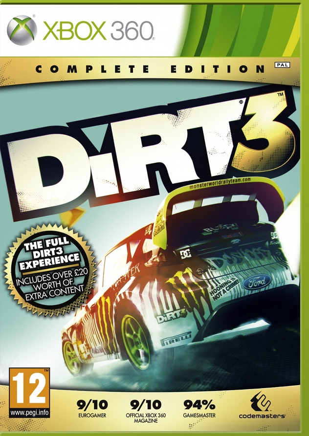 Dirt 3 Complete Edition (2012) XBOX360