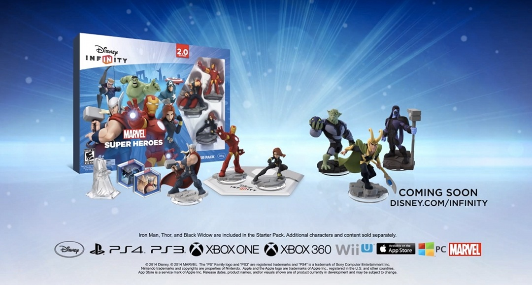 Disney Infinity 2 0 Marvel Super Heroes Trailer Brings On