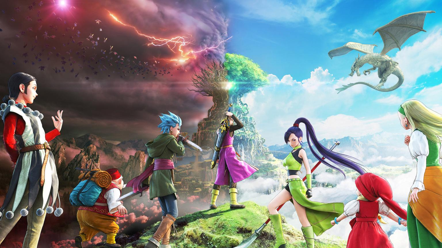Dragon Quest XI S confirmed for Xbox consoles, releases in December