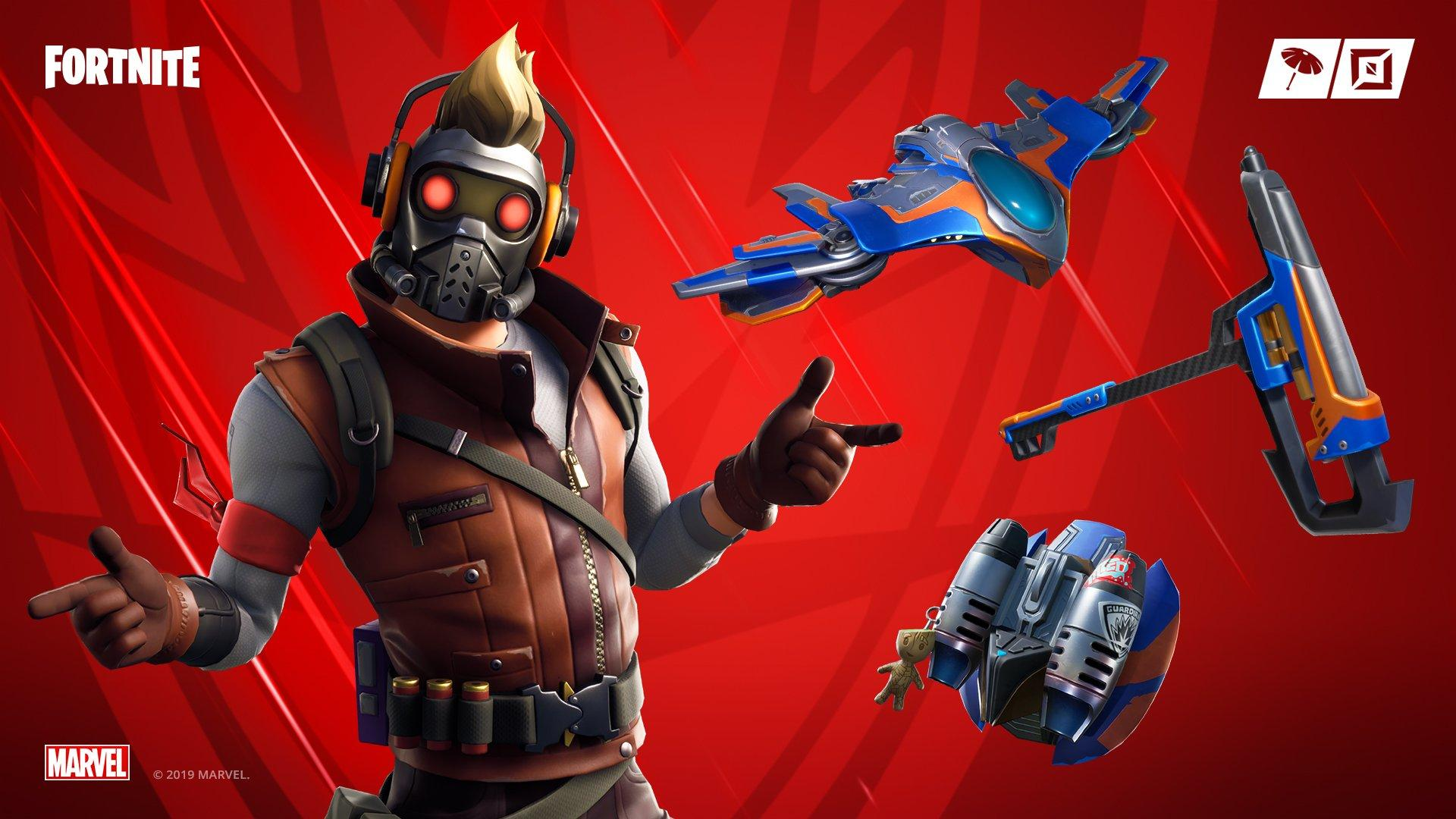Fortnite X Avengers Event Adds A New Star Lord Outfit Xbox
