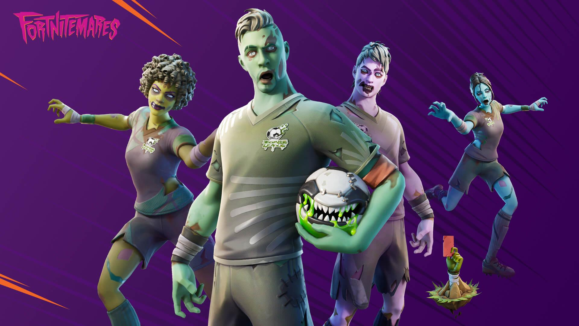Fortnitemares Returns To Fortnite With Halloween Skins, New