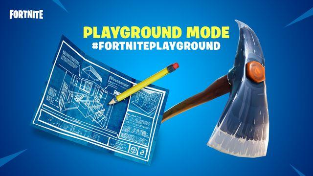 Fortnite's Playground Limited-Time Mode is Now Live - Xbox One, Xbox