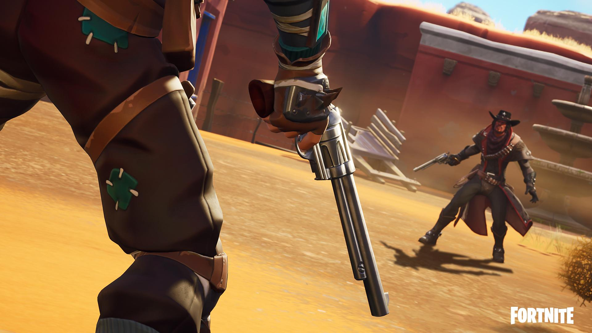 Fortnite Wild West Mode Now Live, New Dynamite Item Temporarily Disabled