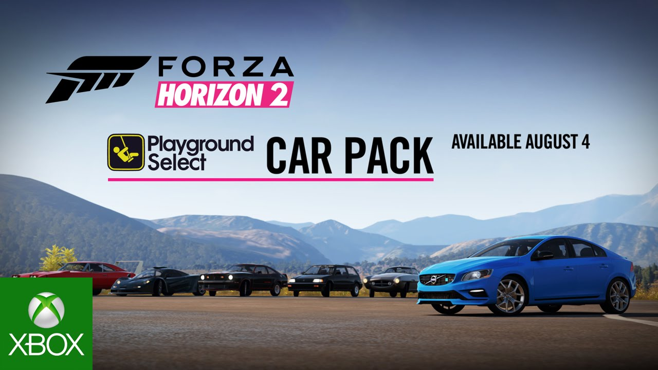 forza horizon 2 playground select car pack available now xbox one xbox 360 news at. Black Bedroom Furniture Sets. Home Design Ideas