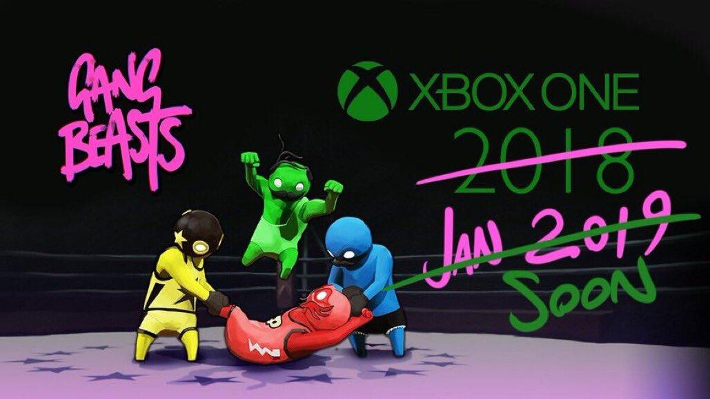Gang Beasts Has Been Delayed for Xbox One - Xbox One, Xbox