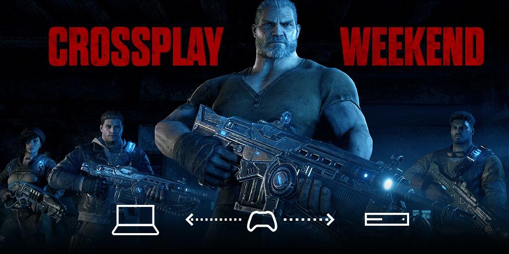 Gears of War 4 Crossplay PC/XB1 Test Weekend Starts This Friday