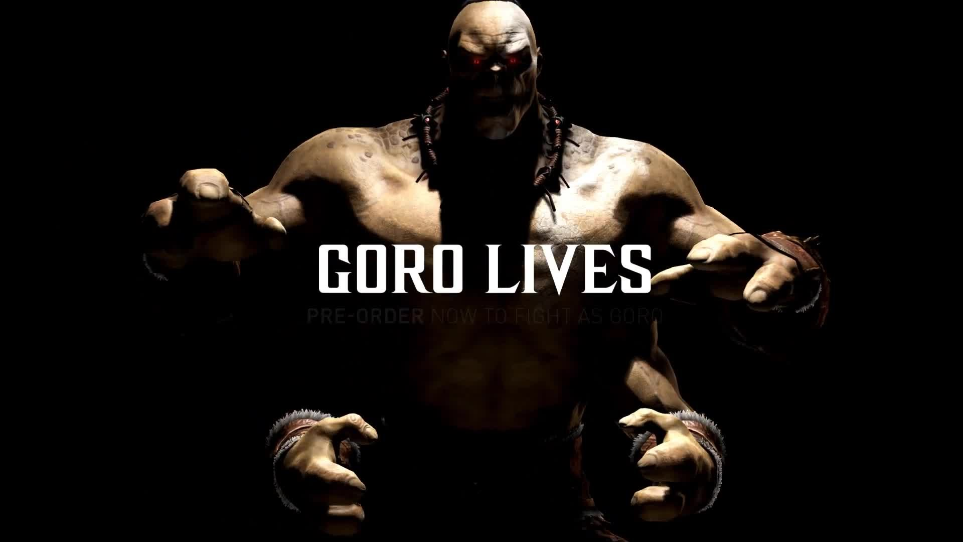 Goro Smashes Heads Into Shoulders In This New Mortal Kombat X