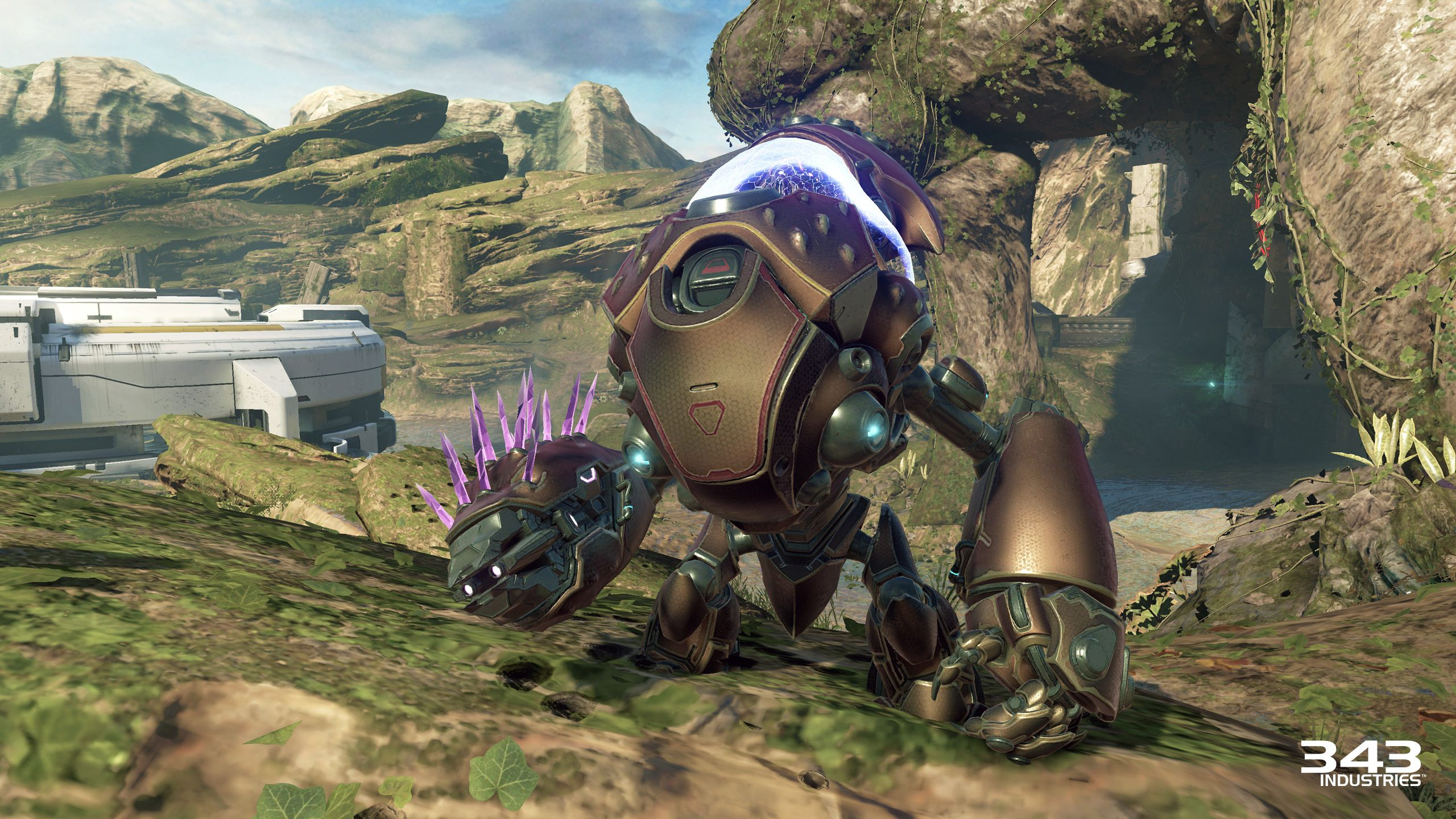 Halo 5's Next Boss Is A Grunt In A Mech Suit, New Air Support