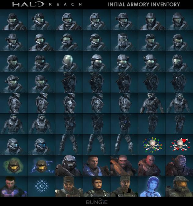 Bungie Tease More Halo Reach Achievements Holograms