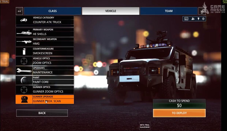 Battlefield hardline vehicle list