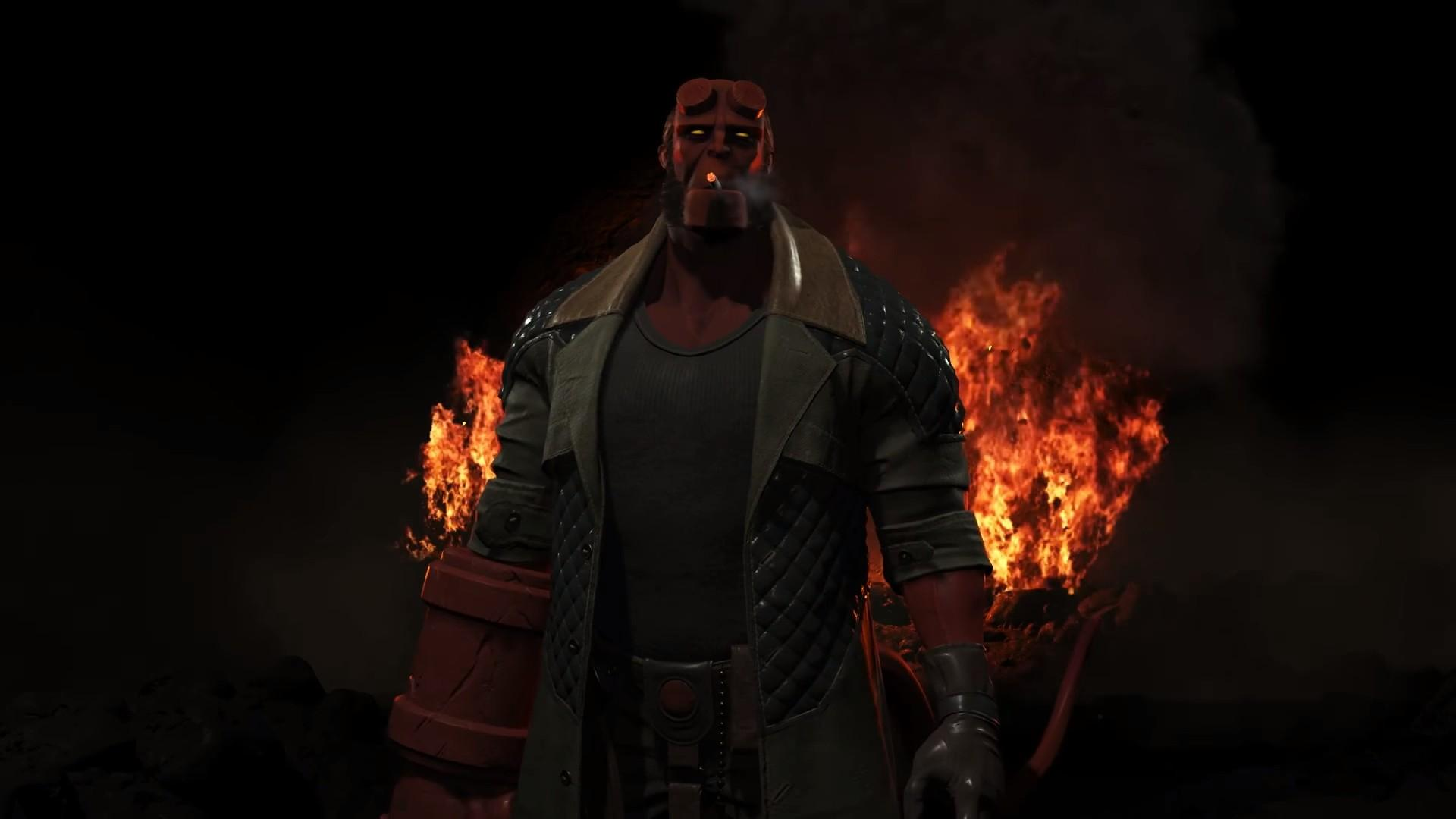 Hellboy Will Beat Down the DC Universe in 'Injustice 2' DLC