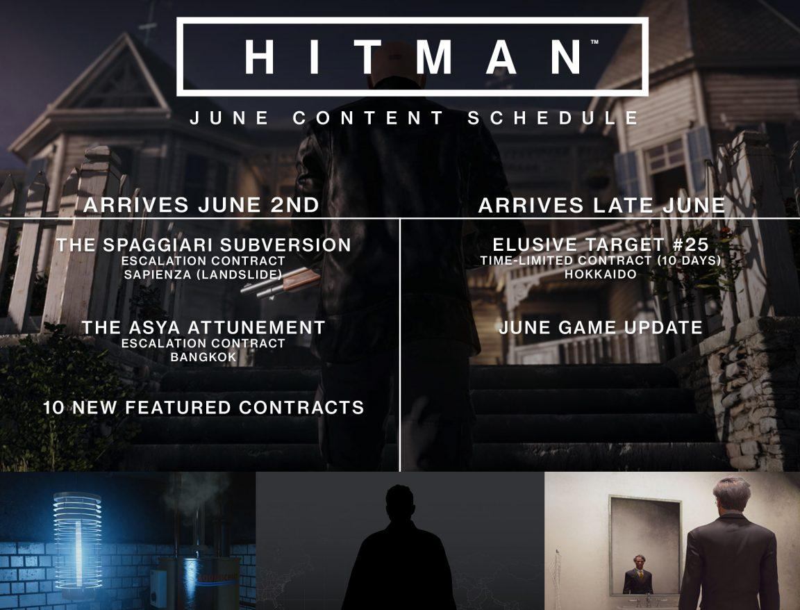 Hitman reveals June content, amid Square Enix trying to sell studio