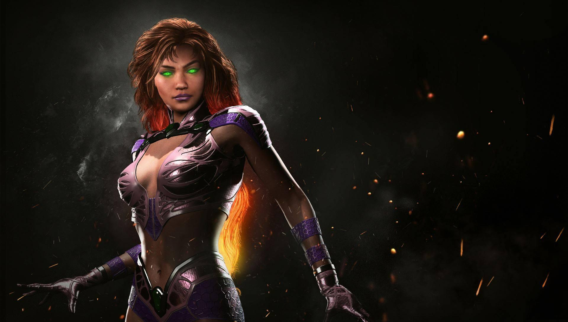 Injustice 2 Reveals Starfire As A New Playable Character