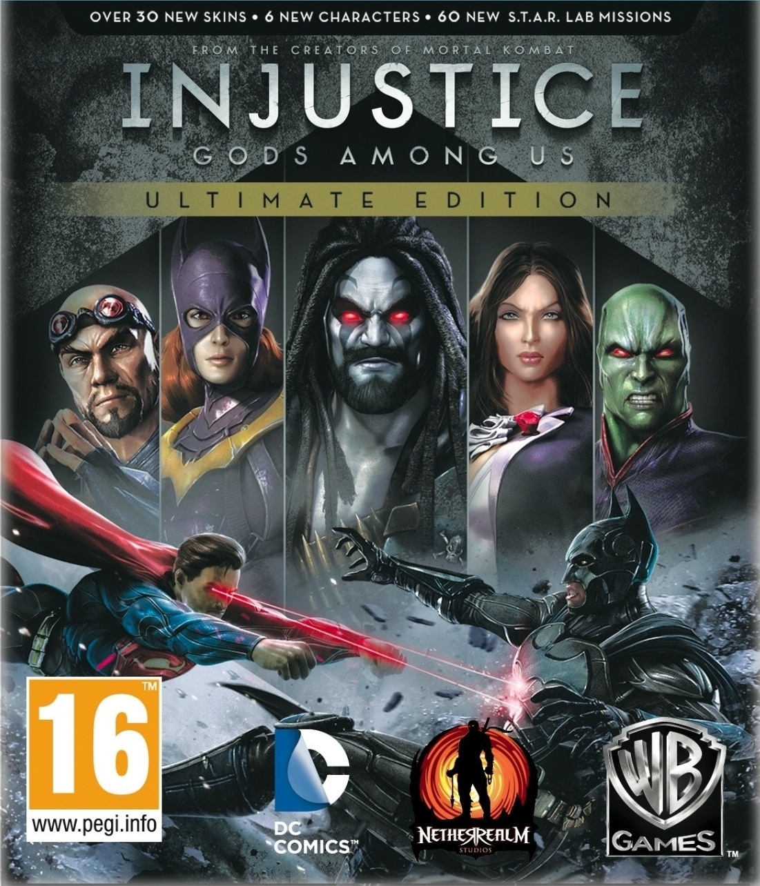 Injustice Gods Among Us Ultimate Edition-inFAMOUS