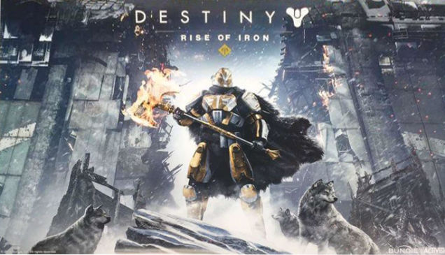 Destiny expansion Rise Of Iron leaked