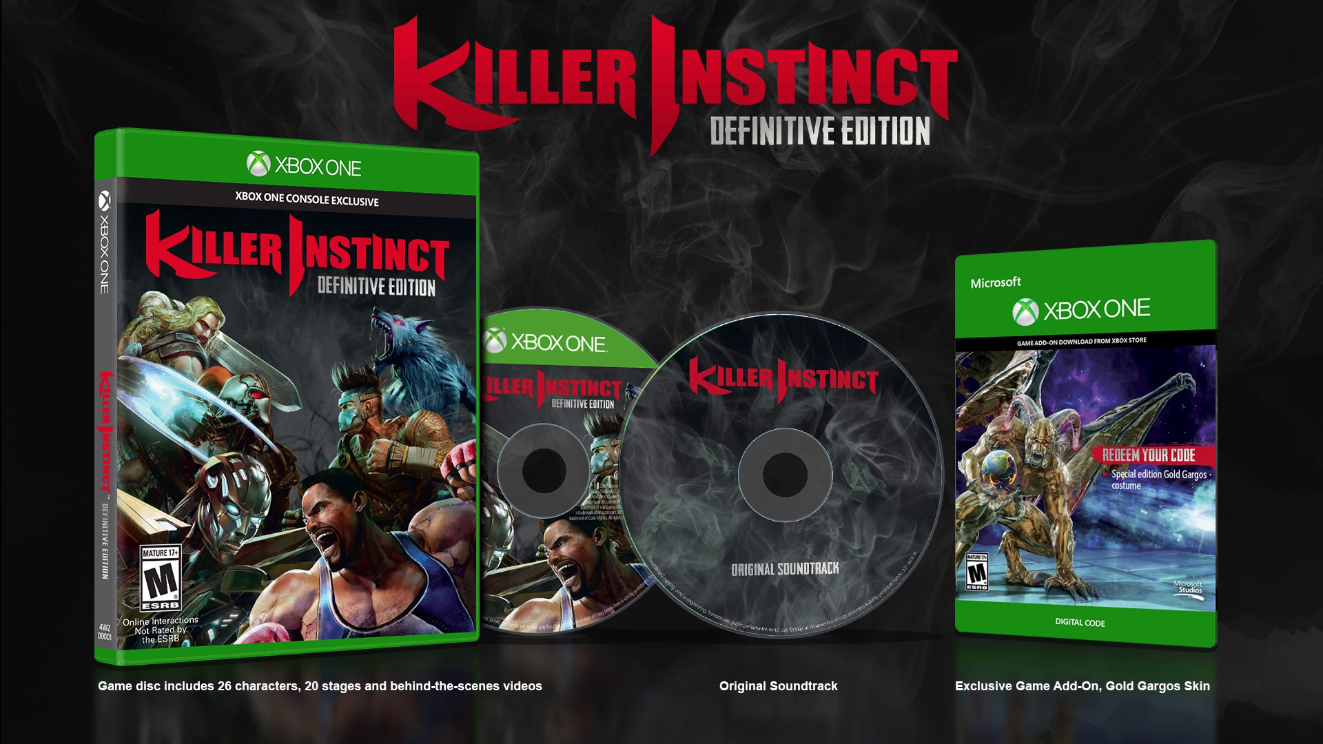 Killer Instinct: Definitive Edition announced and fans aren't happy