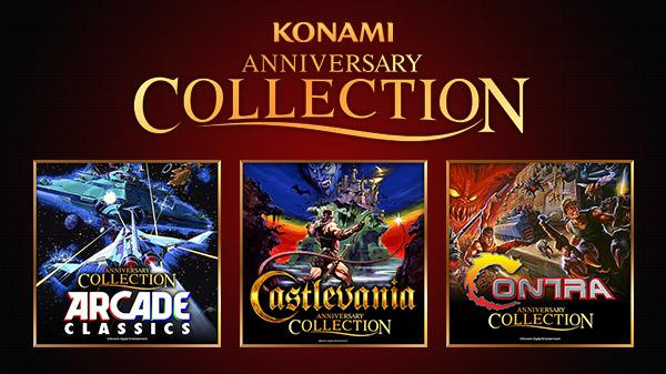 Konami Announces Three Classic Collections: Arcade, Castlevania, Contra