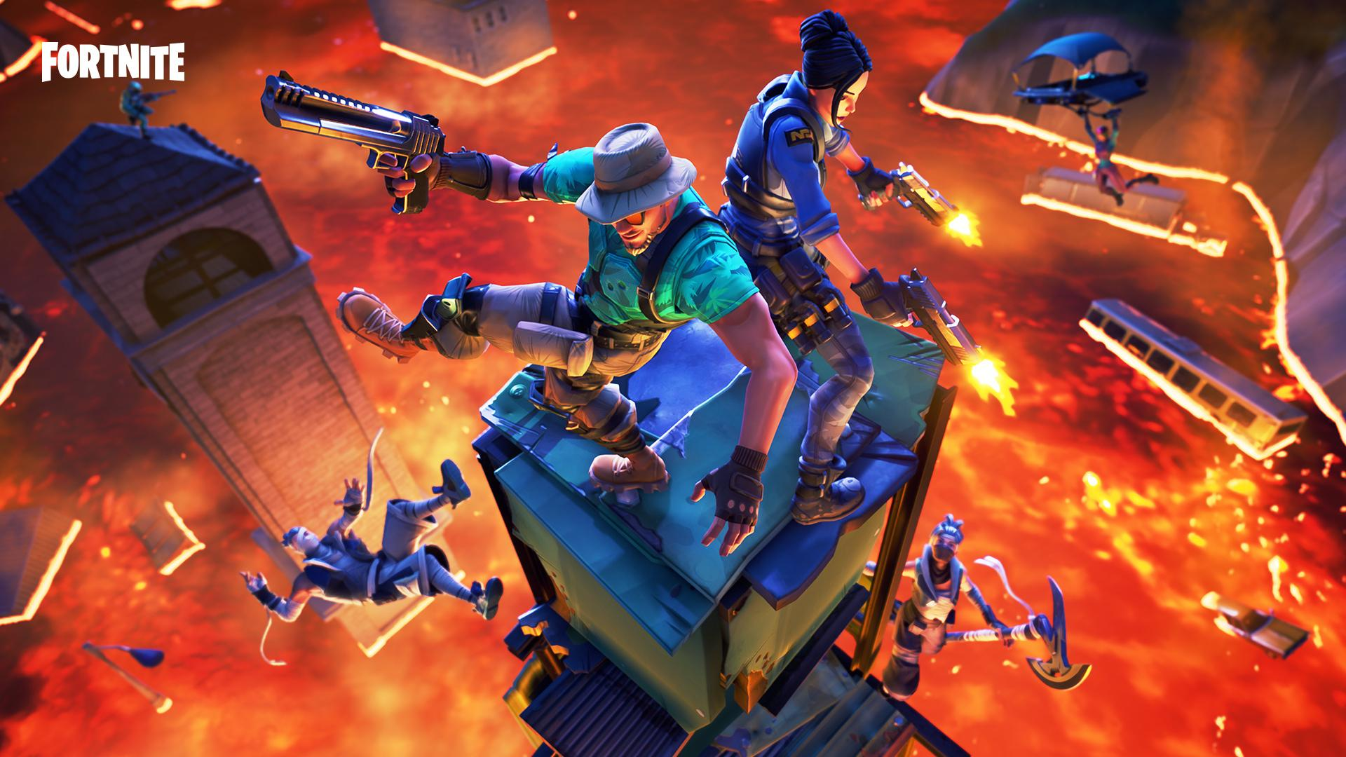 Fortnite Update Adds New Floor Is Lava Limited Time Mode