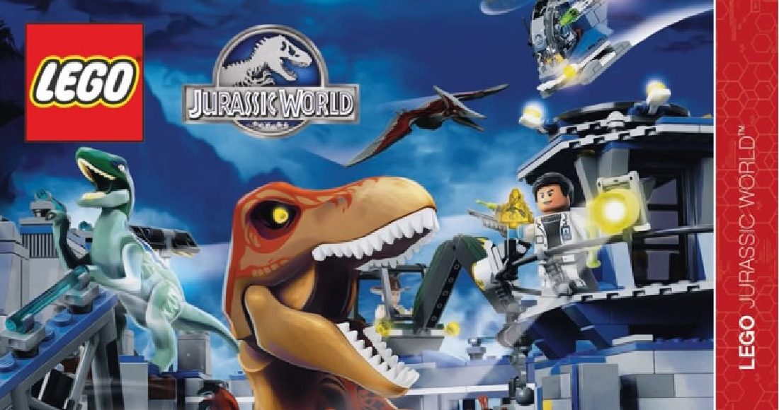 This Lego Jurassic World Teaser Video Is Jaw Dropping