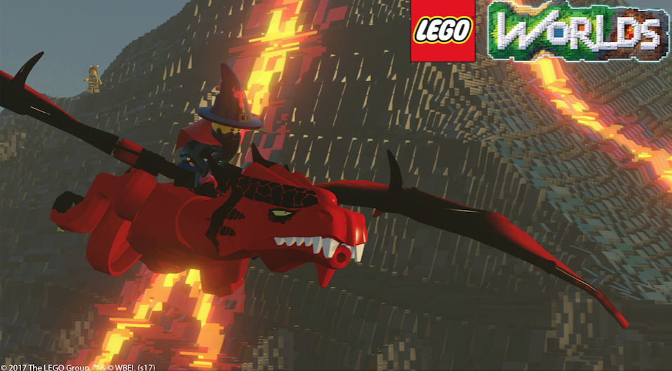 Minecraft-Like Lego Worlds Announced for PS4 and Xbox One