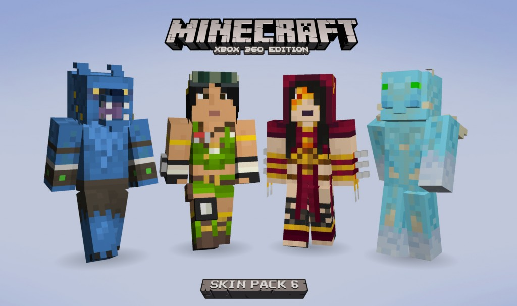 More minecraft skins revealed including first female character xbox