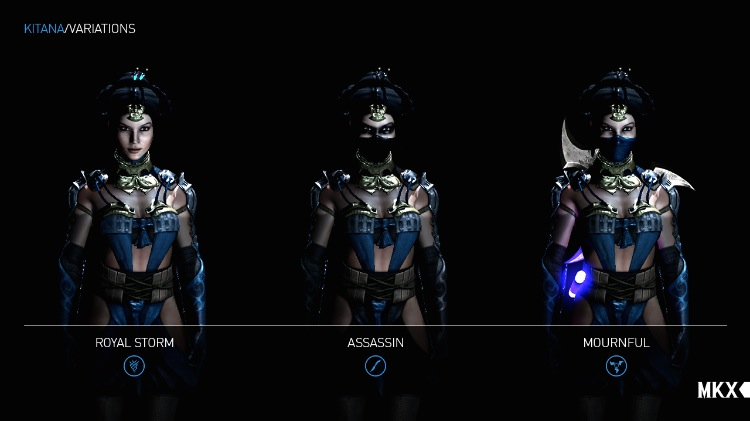 Mortal Kombat X Gameplay Vid Showcases Kitana S Variations Xbox