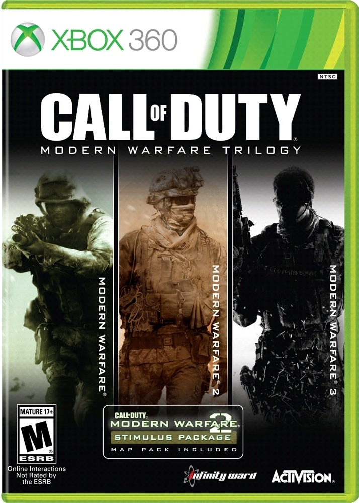 Call Of Duty Modern Warfare Trilogy Heads To Xbox 360 And