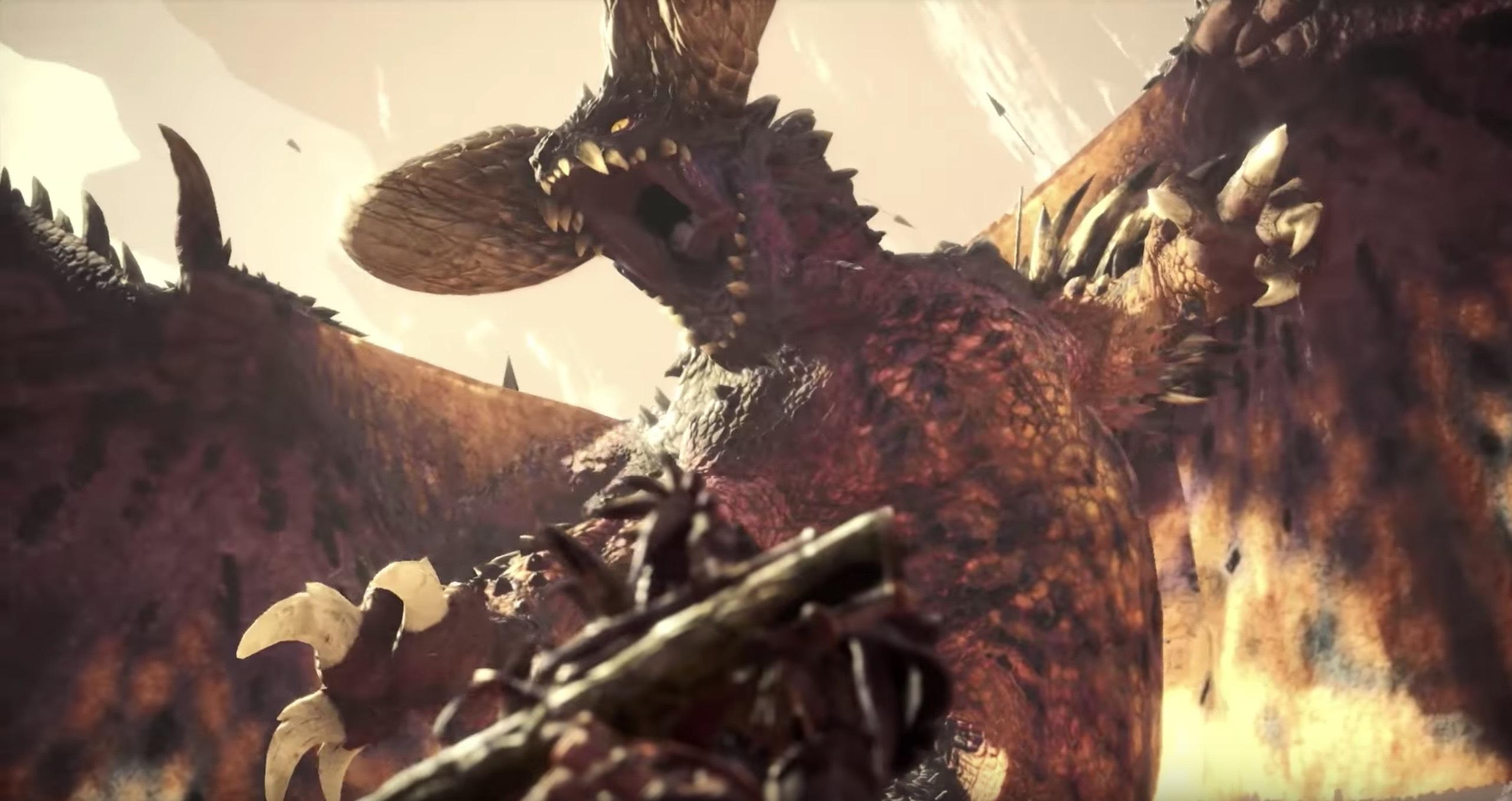Monster Hunter World Trailer Details Elder Dragons; Final Beta Starts Jan 18th